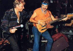 Johnny Hallyday & Marc Bozonnet